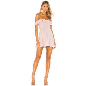 superdown Sybil Mini Dress in Blush
